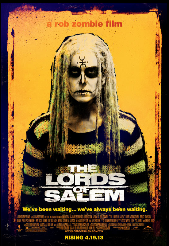 Horns Up Rocks: Here Is A Clip Of The NEW Rob Zombie Movie ... Horns Movie Poster