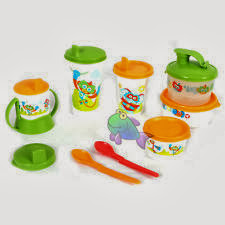 BABY MEAL SET TUPPERWARE