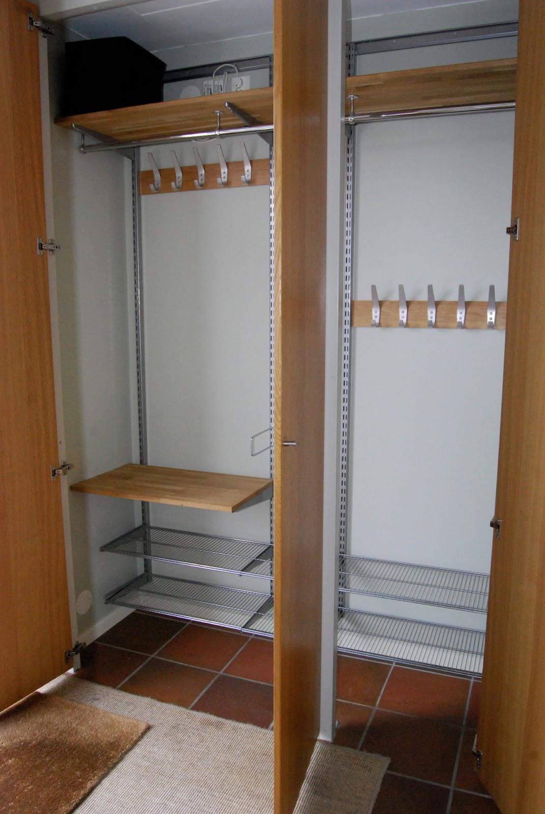 Almbacken Effektiv förvaring i liten hall