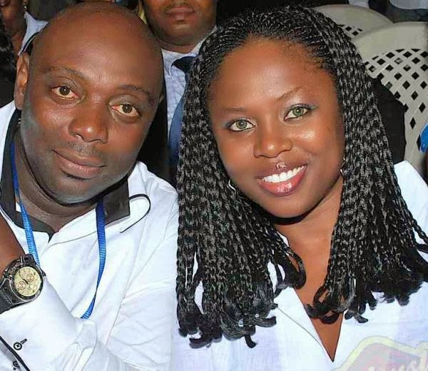segun arinze wife gives birth