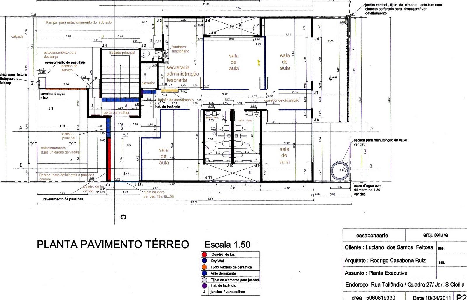 ARQUITETURA&ARTE: Projeto arquitetônico comercial 2010/2012 #C80903 1600 1028
