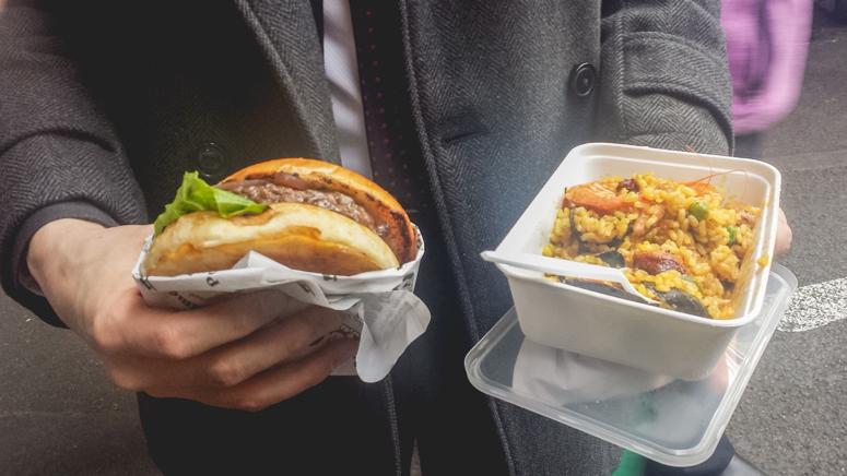 highland venison burger