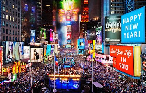 10 dicas para Times Square na véspera de Ano Novo