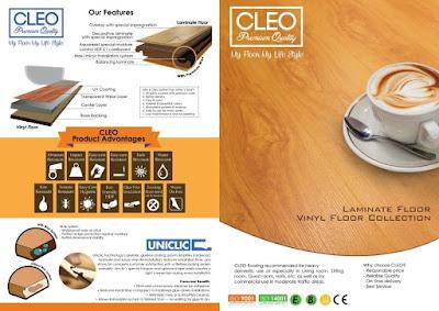 Laminate dan Vinyl Flooring CLEO