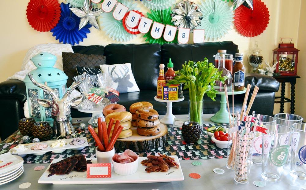Bagels + Bloody Marys Christmas Brunch