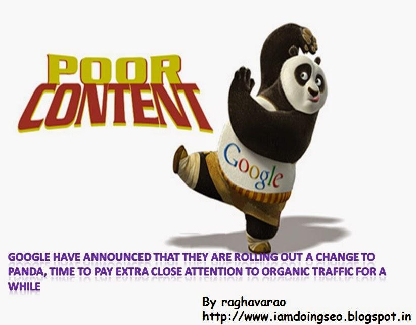 panda 4.1  algorithm update by iamdoingseo