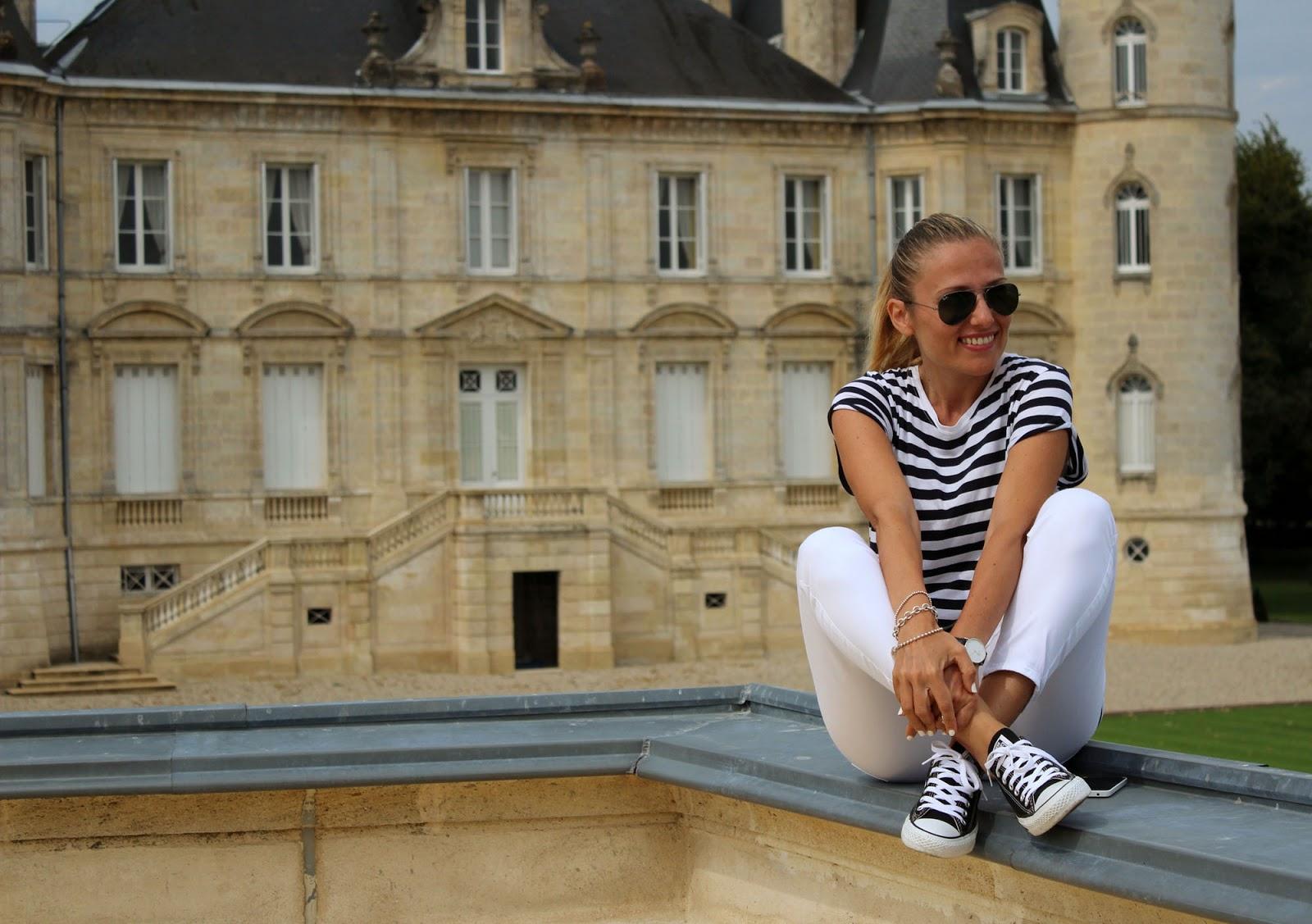 Eniwhere Fashion - Médoc- Stripes shirt and wines
