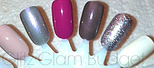 OPI Nail Swatches