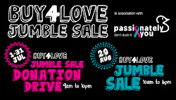 Buy4Love Jumble Sale