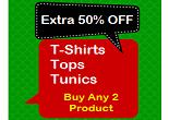 Myntra: Buy Buy Set Of 2 T-Shirts, Top & Tunics & Get Extra 50% OFF – Puma, UCB, Adidas, Roadster & More