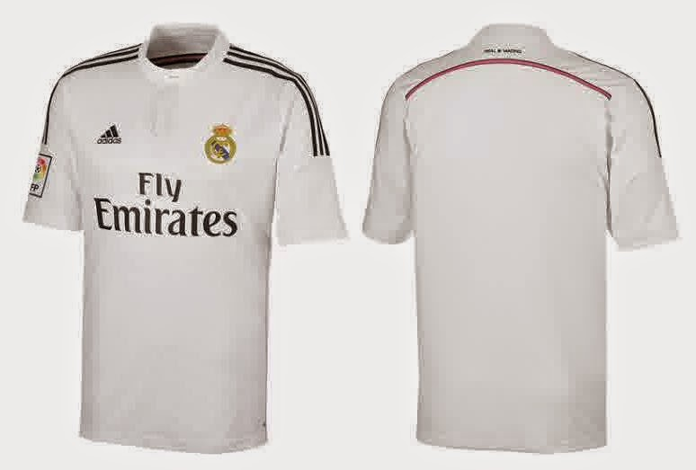 Jersey Real madrid home terbaru