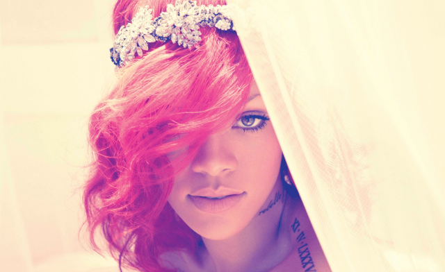 "Above is the back cover of Rihanna's fifth stuido album ""Loud""."
