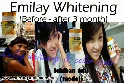 Bukti dan Testimoni Emilay whitening