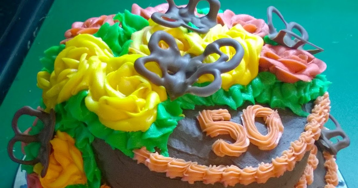 how to make a sponge birthday cake with icing