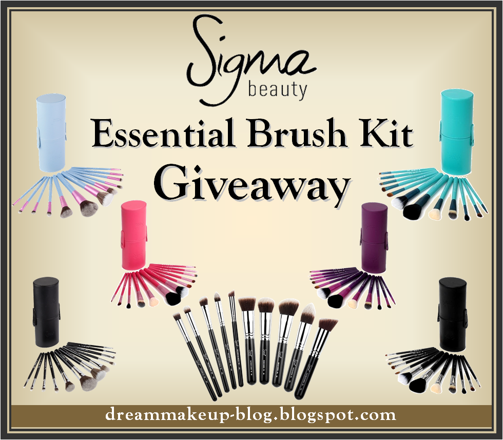 Sigma Beauty Essential Brush Kit Giveaway!!! *Opens Internationally*