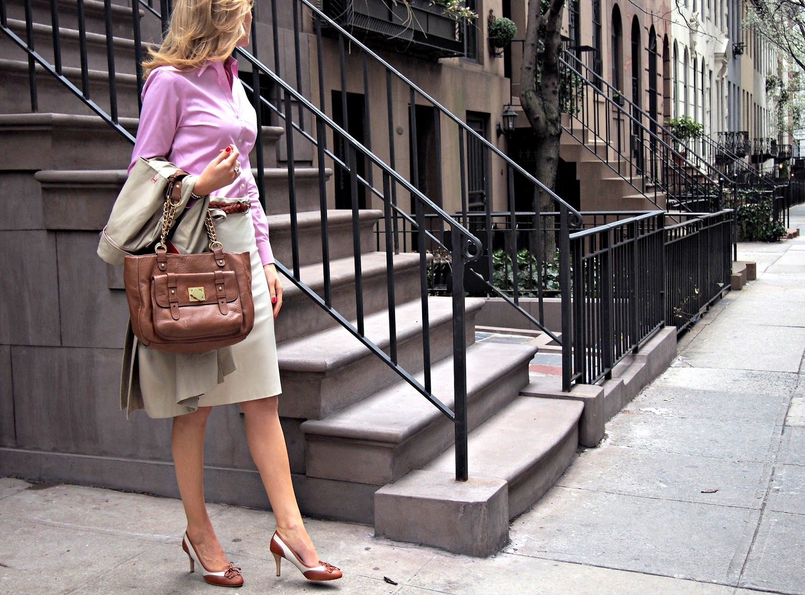 A spring classic memorandum nyc fashion lifestyle blog for the working girl - Brooks brothers corporate office ...