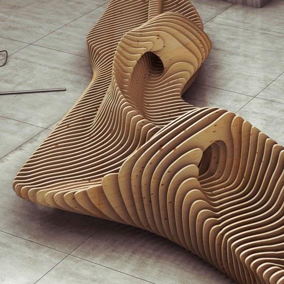 Alavi architecture tendance designer tendance for Chaise vibrante