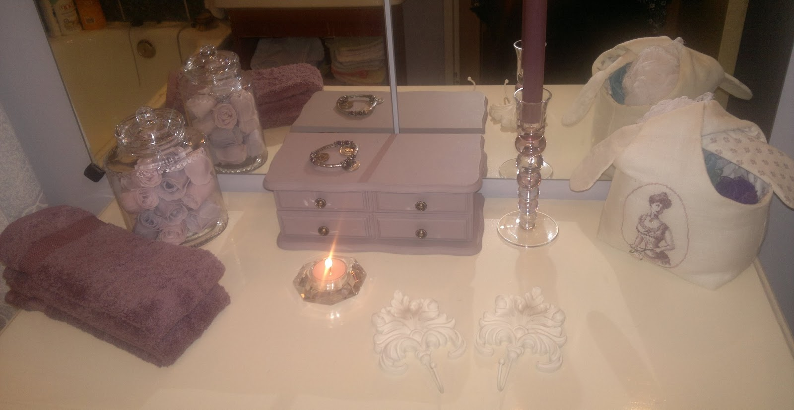 Les petits c t s de rose d cembre 2011 - Relooking salle de bain ...