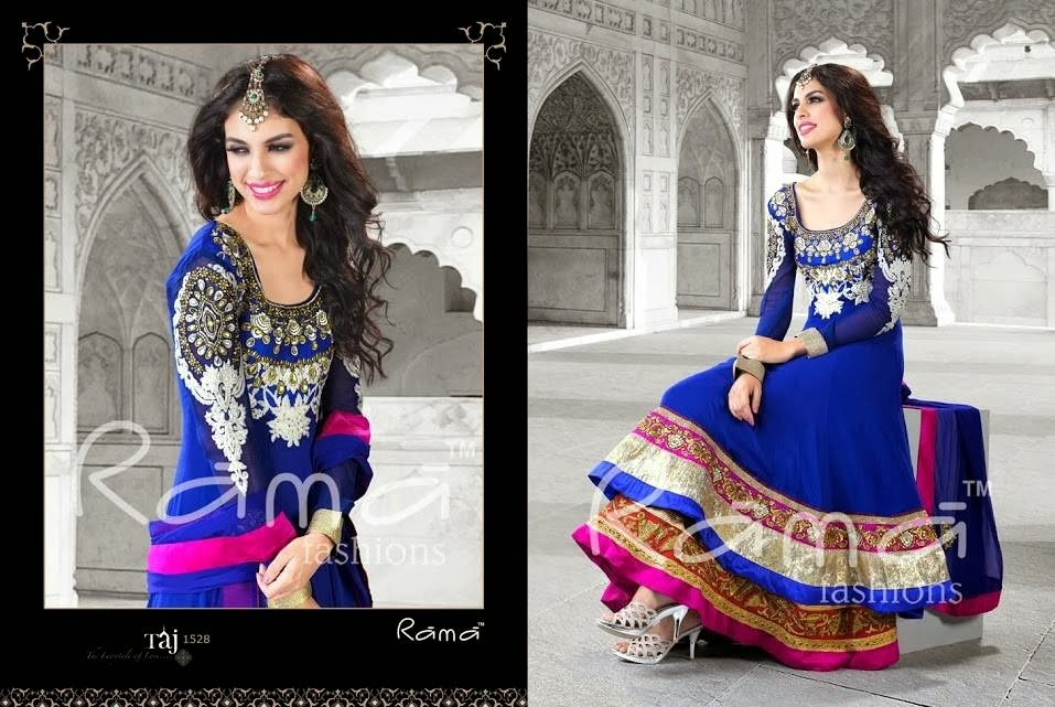 Taj Mahal Collection 2013-2014 By Rama Fashion | Indian Floor Length ...: fashionhuntworld.blogspot.co.at/2013/10/taj-mahal-collection-2013...
