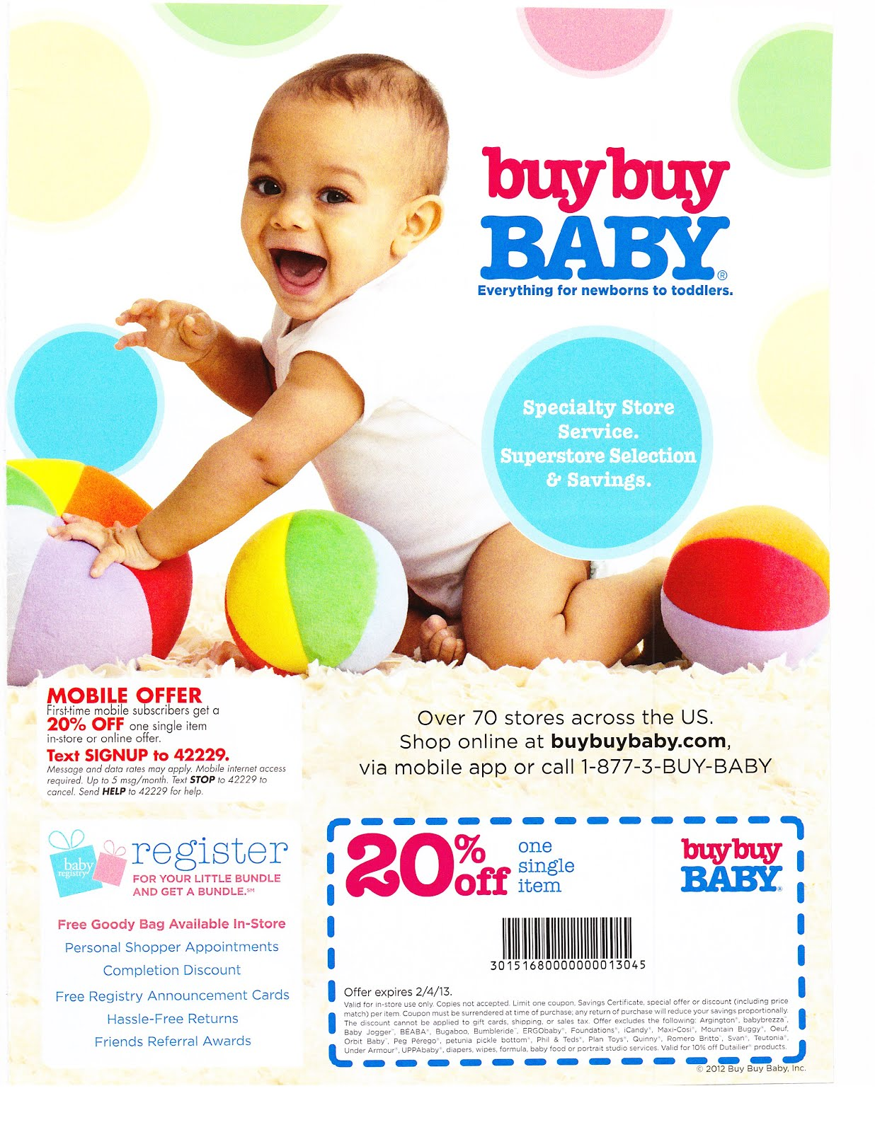 Buy buy baby discount coupon