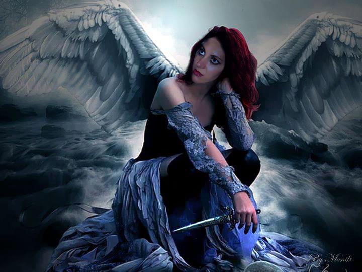 Gothic dark wallpapers download free dark gothic - Gothic angel wallpaper ...