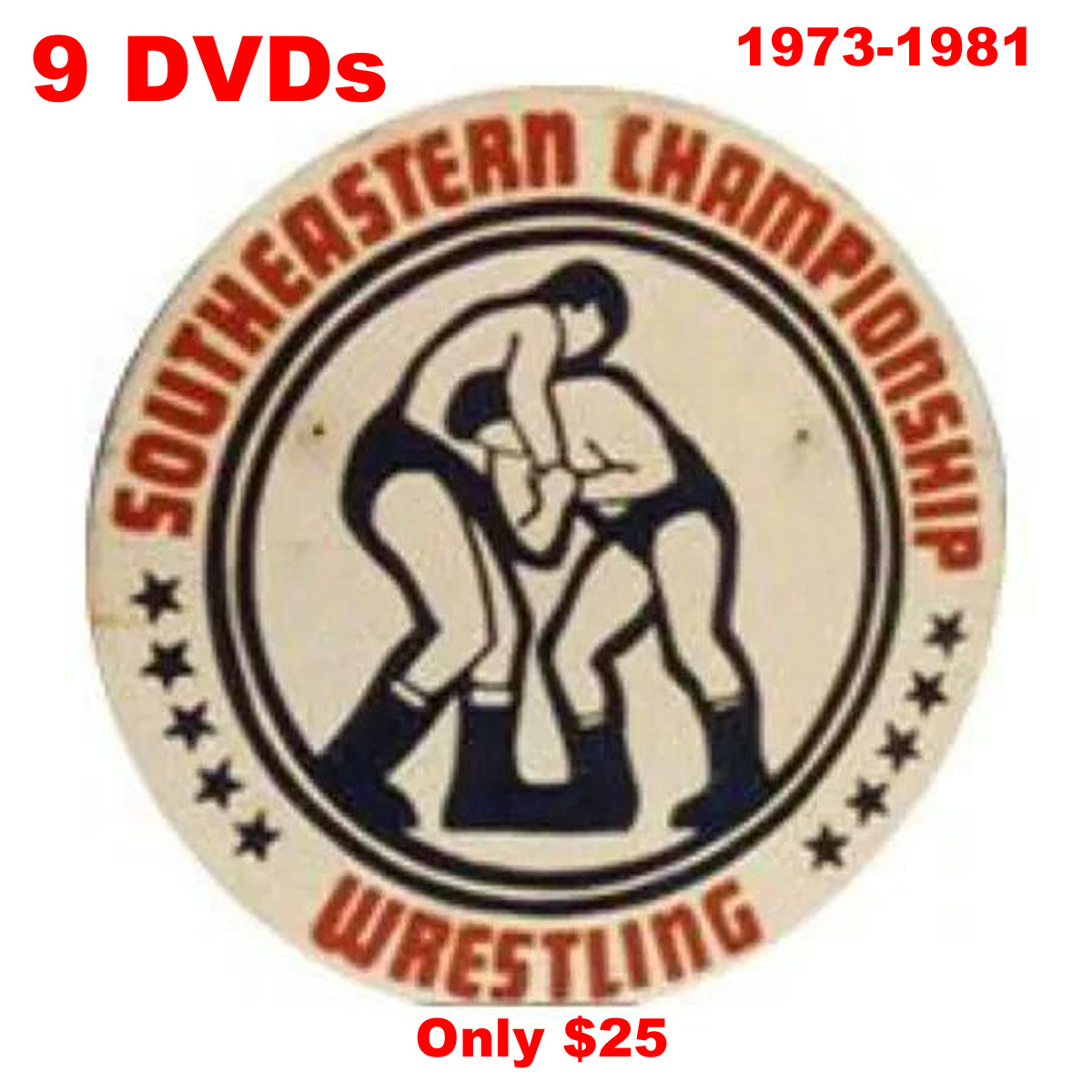 Christmas Sale Rare Knoxville Arena and Studio Wrestling