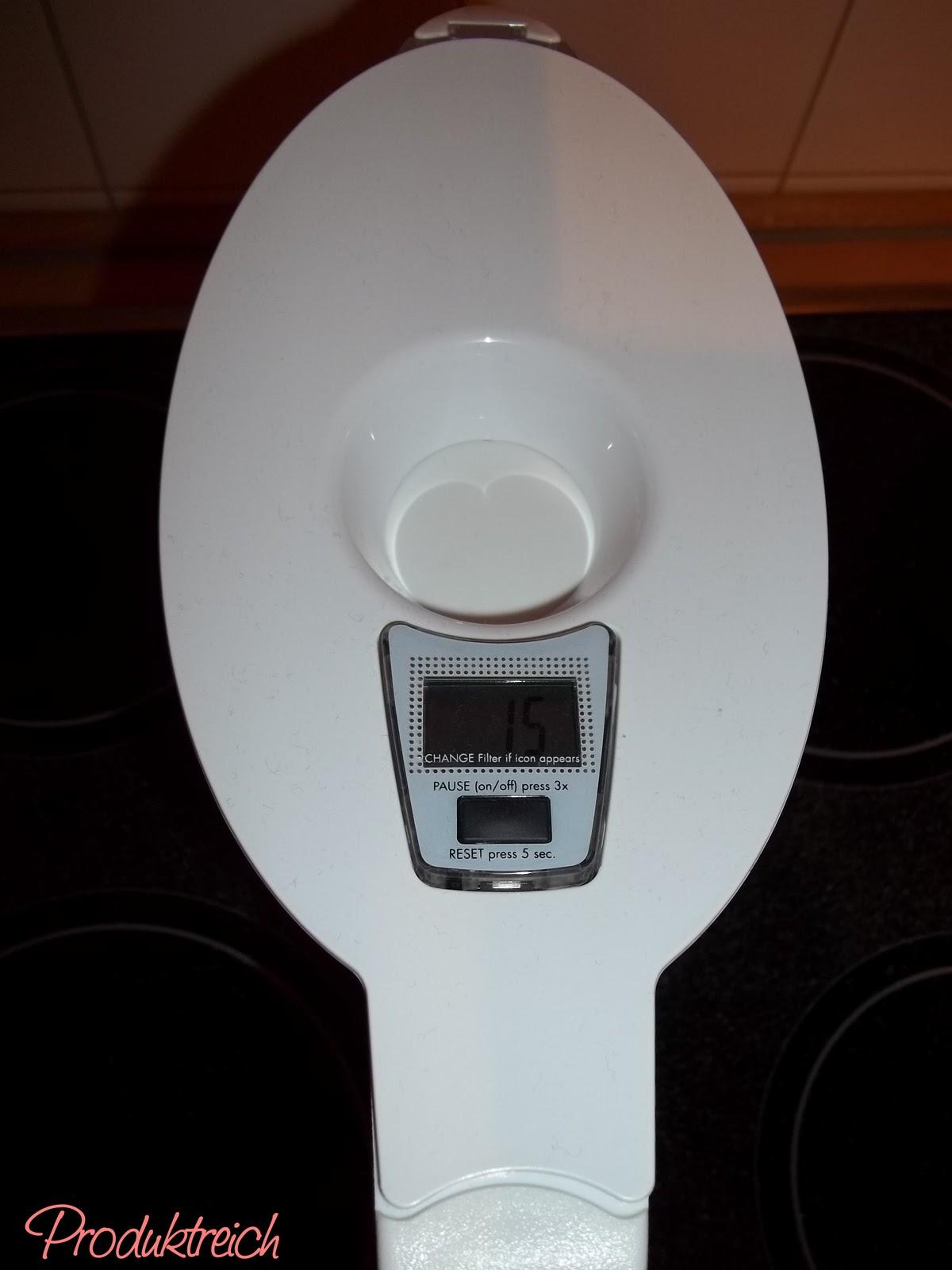 produktreich [testbericht] bwt tischwasserfilter  ~ Kaffeemaschine Nutzungsdauer