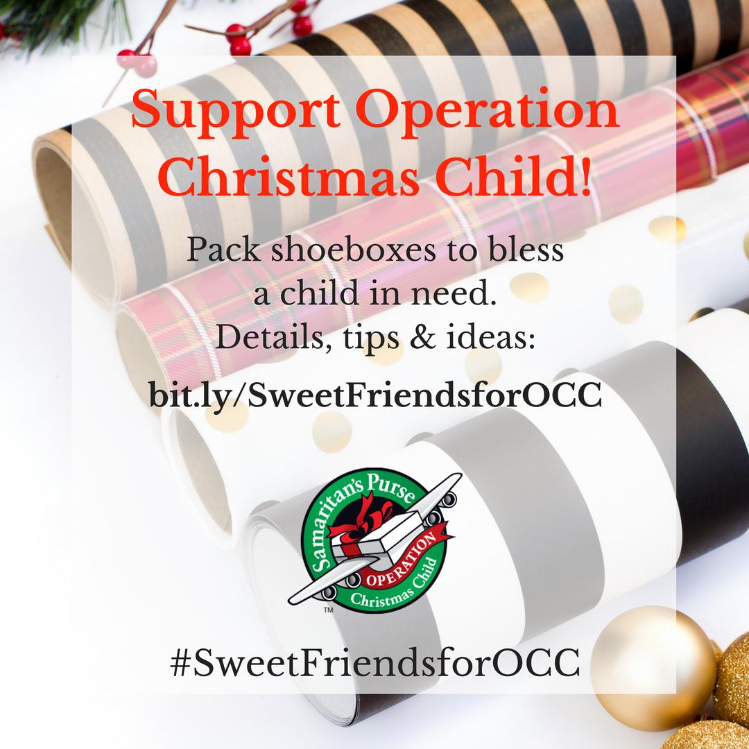 #SweetFriendsforOCC