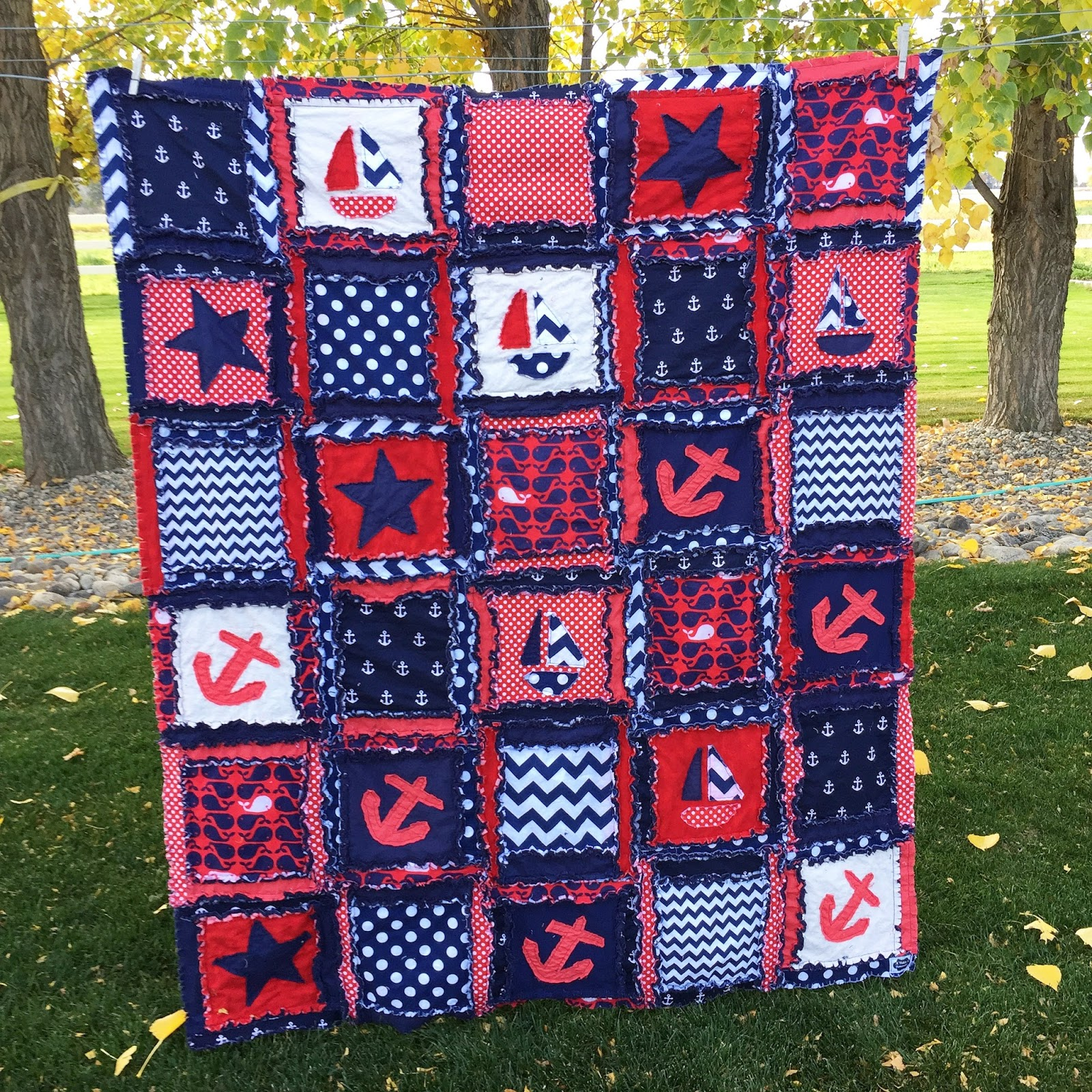 What Fabric Do I Use for Rag Quilts? from the Pro Rag Quilt Maker ... : use of quilt - Adamdwight.com