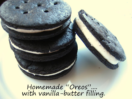 Homemade Oreos... a.k.a Fauxreos. Not like the store-bought. But, oh ...
