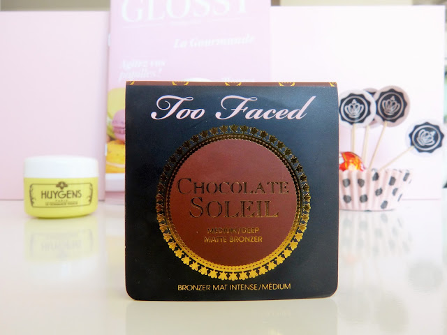 Chocolate soleil Bronzer too faced Bronzer Mat Intense Glossybox Cacao Chocolat