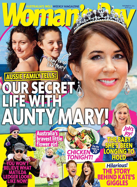 Kronprinsesse Mary - Woman's Day Australia, November 2015
