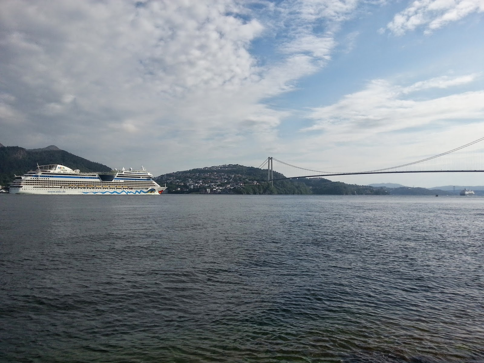 Cruise Ship AIDAsol in Bergen