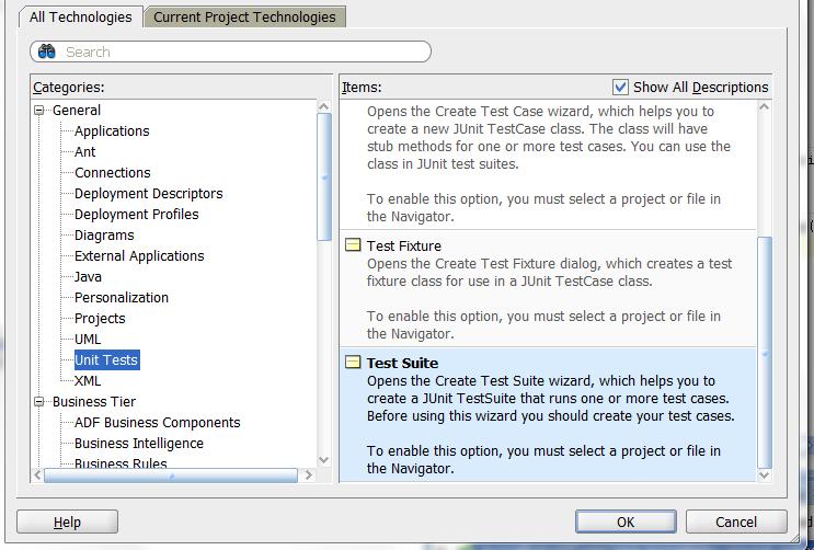 Fortune minds javaj2ee how to write junit tests using jdeveloper ccuart Images