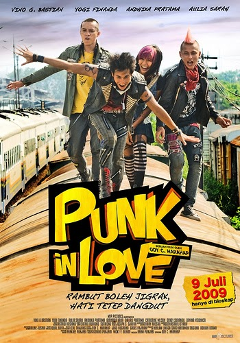 Poster Film Indonesia Punk In Love