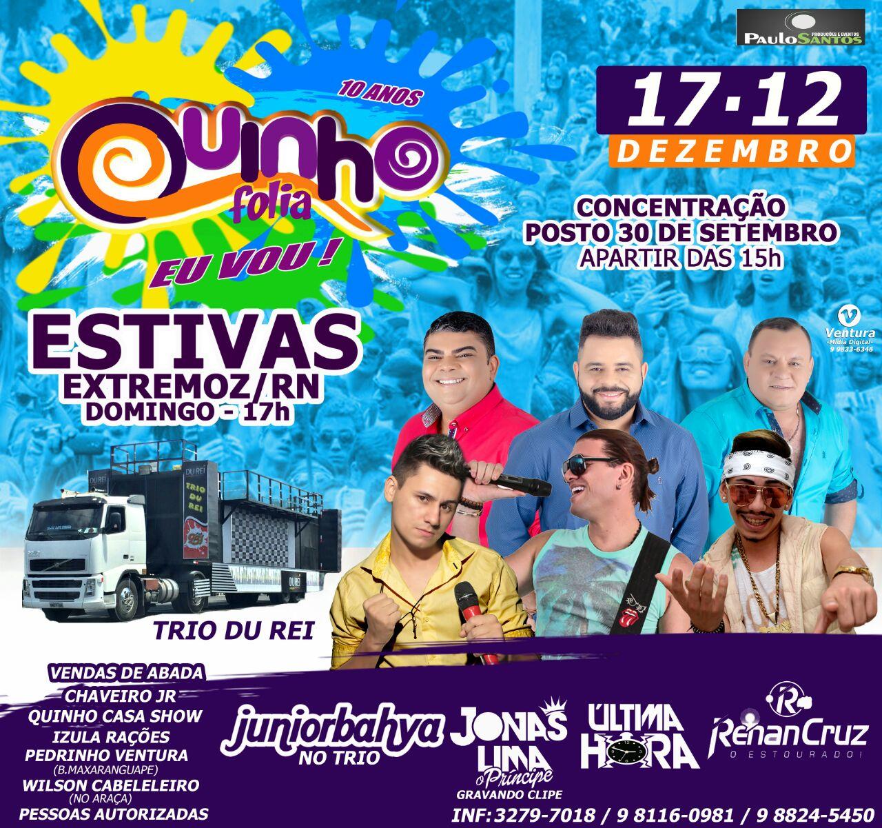 QUINHO FOLIA 2017 - EXTREMOZ
