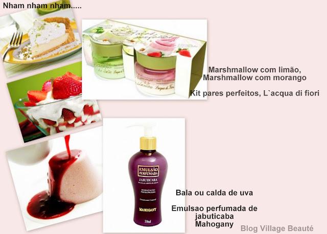 CHEIRO BOM DE BALA EM PERFUMES E CREMES