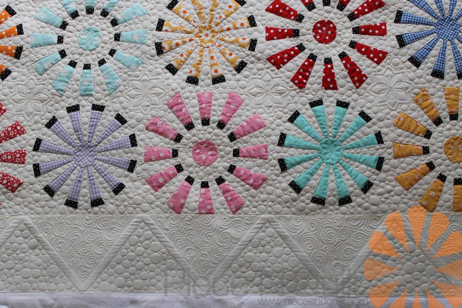 Piece N Quilt: Ferris Wheel Quilt - Custom Machine Quilting by ... : piece n quilt - Adamdwight.com