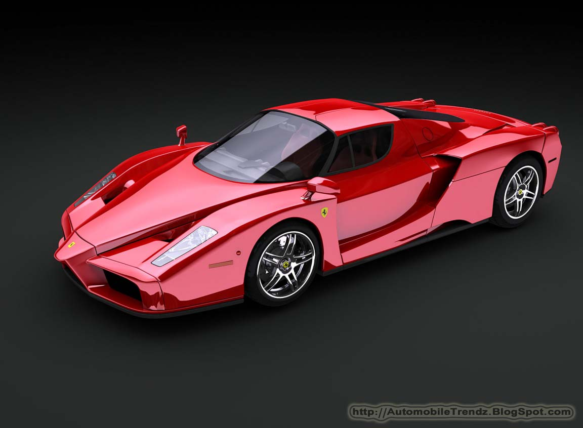 automobile trendz ferrari enzo wallpaper. Black Bedroom Furniture Sets. Home Design Ideas