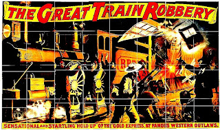 great train robbery poster