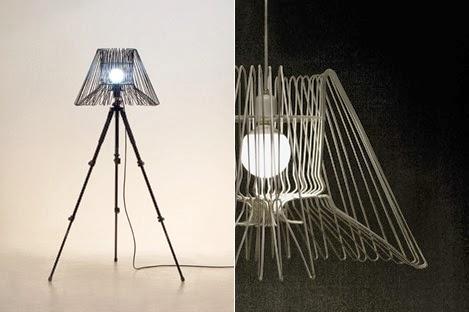 Vous pouvez faire des lampes design, qu'on ne trouve pas ailleurs.