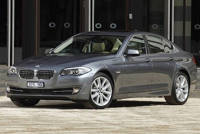 Car pool: BMW 528i