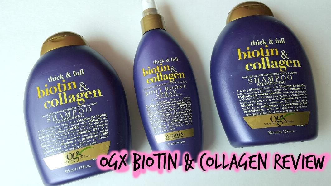 ogx biotin shampoo reviews