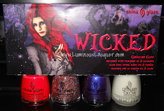 China Glaze Wicked Collection