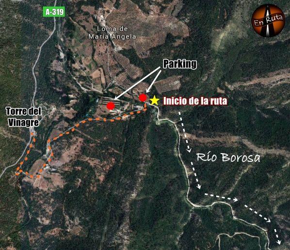Río-Borosa-Mapa