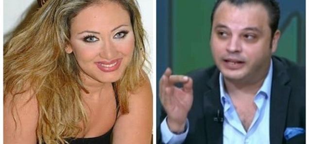 تامر عبد المنعم ينشر على الهواء صور فاضحة لريهام سعيد