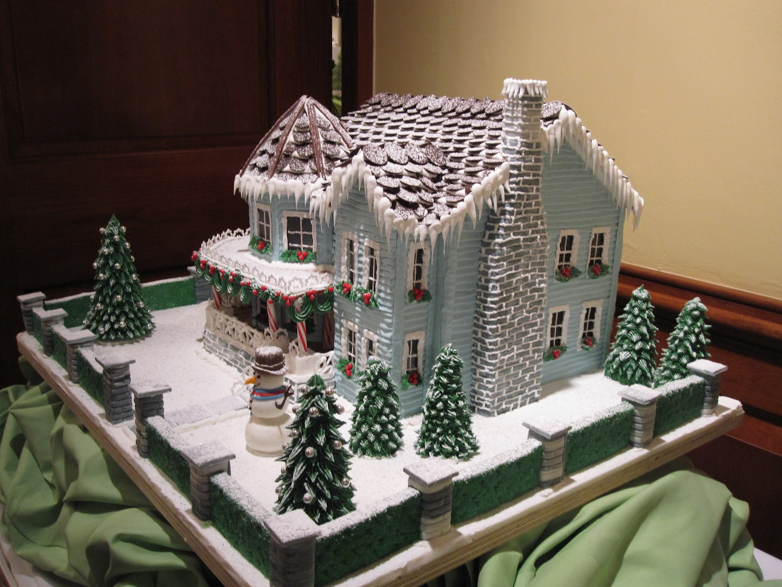 Victorian Gingerbread House Template Gingerbread house by