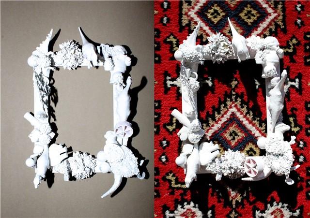 C mo hacer un marco de fotos con juguetes blog todojuguete - Como hacer un marco de fotos original ...