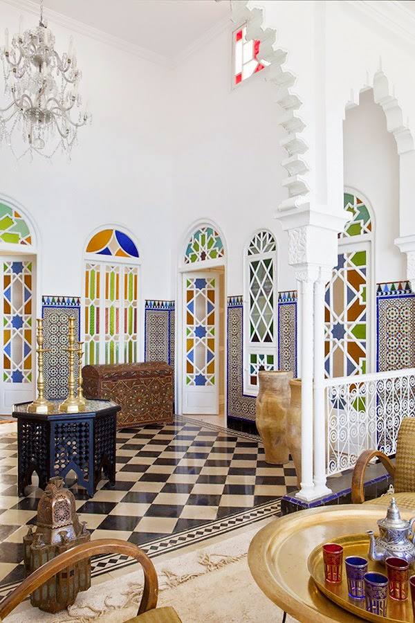 Mix and Chic: Home tour- A gorgeous Moroccan home!