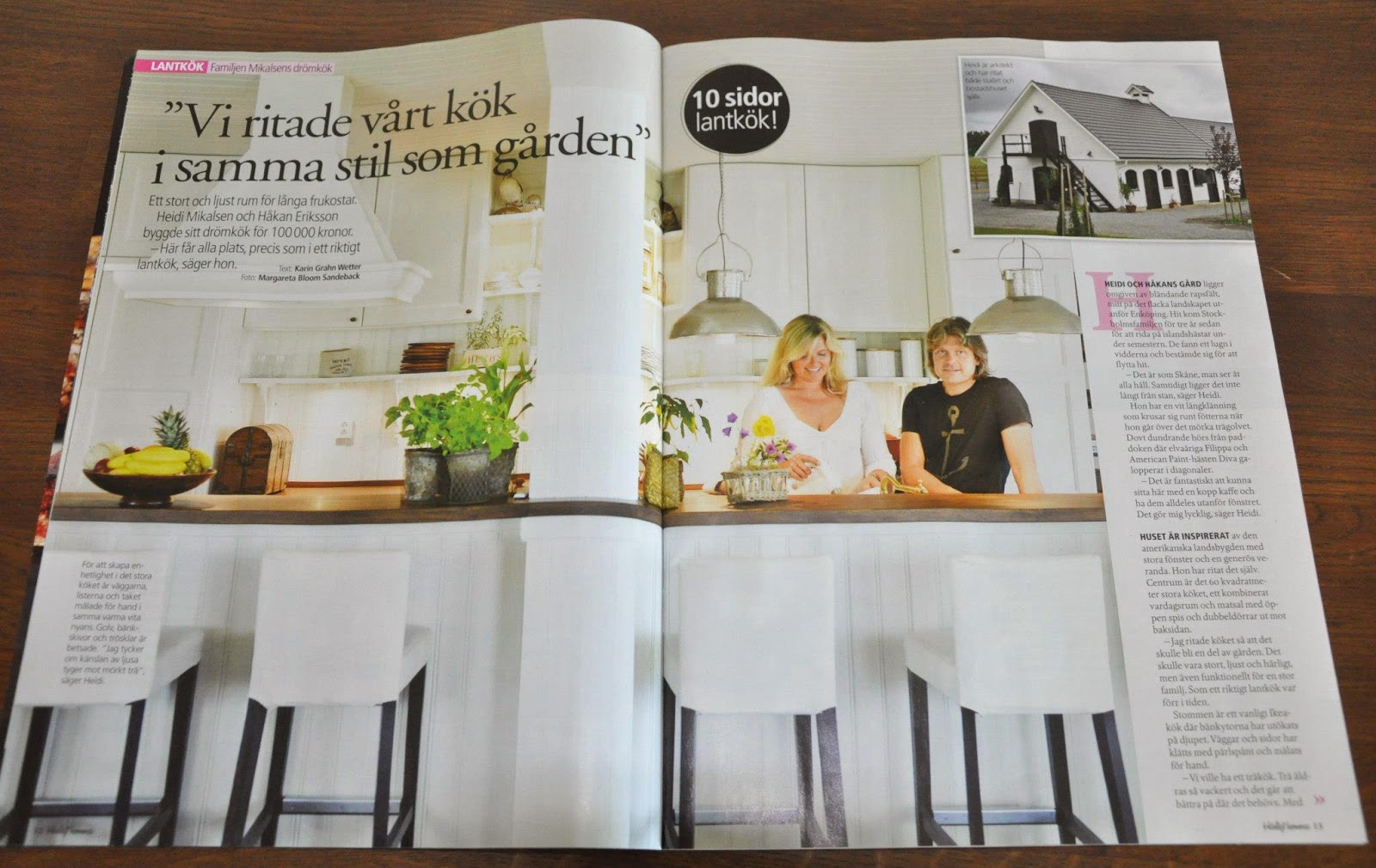 Den vita drömgården: köket